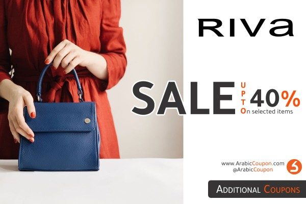 RIVA Fashion SALE 40% on most items with Additional coupon (August 2020)