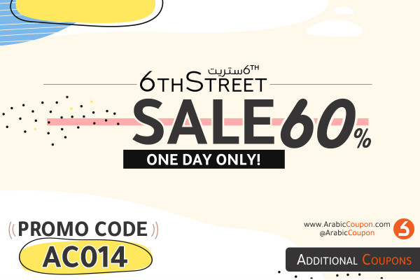 60% 6TH Street SALE for one day only - latest 6thStreet offers and coupons