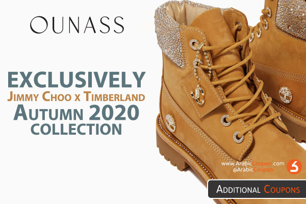 OUNASS Launched EXCLUSIVELY Jimmy Choo x Timberland collection for Autumn 2020