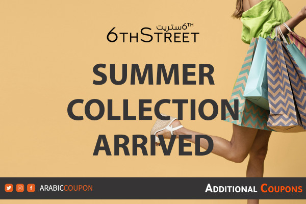 Summer collection arrived to 6thStreet for online shopping with extra coupon