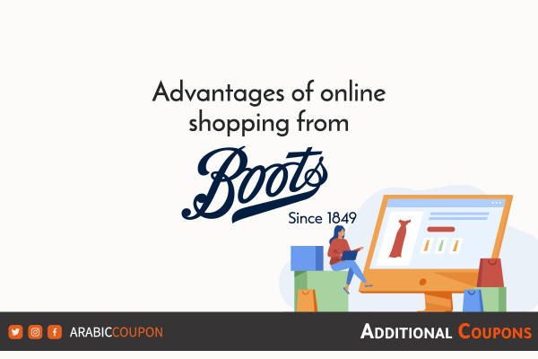 Advantages of online shopping and buying from Boots with extra coupons