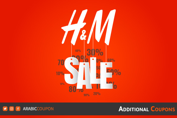 H&M SALE up to 70% with additional coupon / promo code