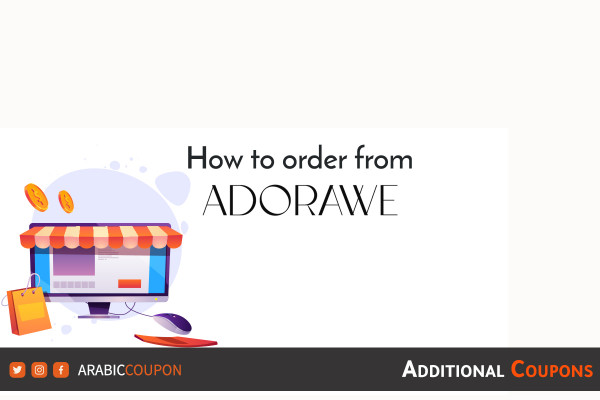 How to buy online from ADORAWE with extra discount coupons