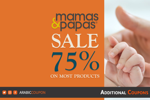 75% OFF Mamas & Papas fall / winter Sale with additional MAMAS&PAPAS coupons and promo codes