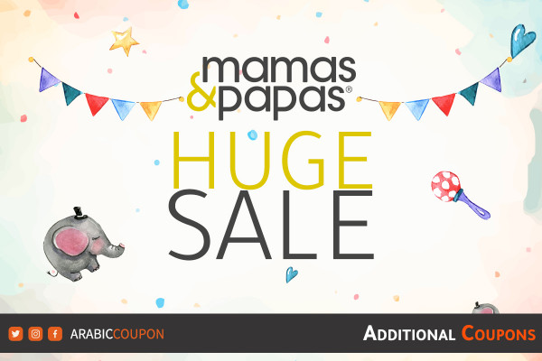Huge SALE launched from Mamas & Papas with additional promo codes & coupons