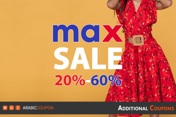 Max Fashion launched Spring Sale up to 60% with an additional 20% discount code