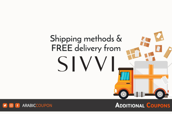 Discover SIVVI shipping and delivery services with extra coupons and promo code