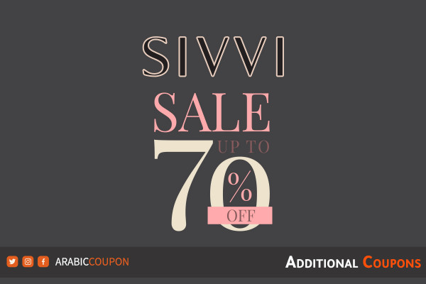 SIVVI SALE 40-70% just started with extra coupons and promo codes