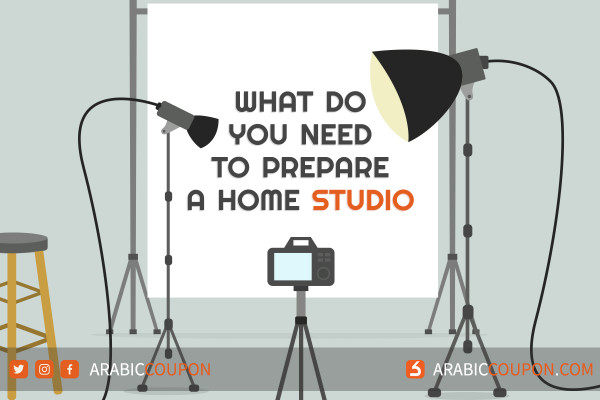 What do you need to prepare a home studio dedicated to YouTube and Tik Tok content