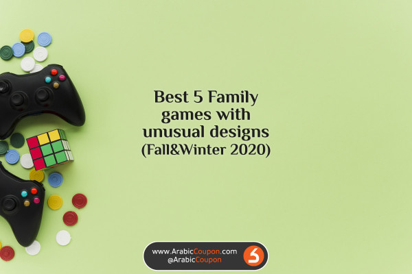 5 Best family games with unusual designs in GCC Market for Fall & Winter 2020