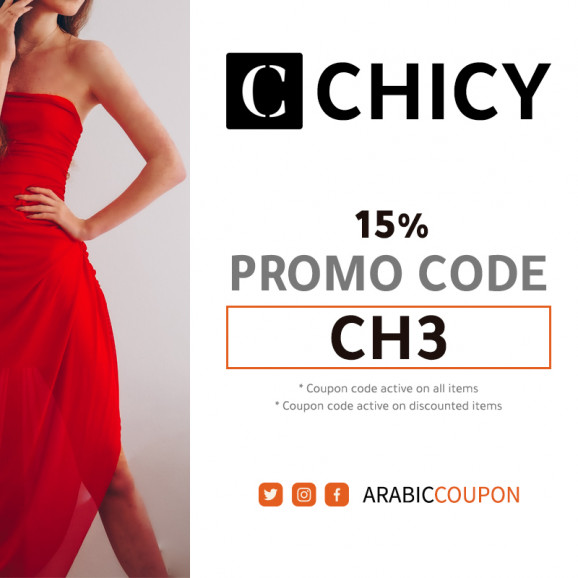 Active 100% CHICY promo code / coupon code on all items in 2021